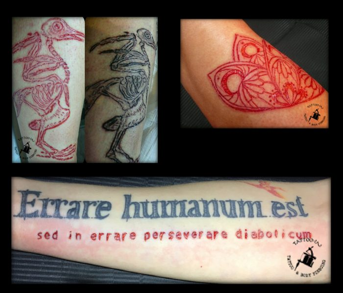 scarification collage