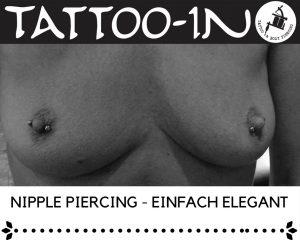 Nipple piercing bei älterer Haut