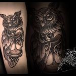 Black and Grey Tattoo von Xavielle Bär