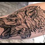 Black und Grey Tattoo von Xavielle Wolf