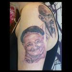 Portrait Tattoo von Xavielle Jose Mujica