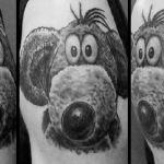 Realistic Tattoo von Xavielle Charly die Maus