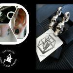 Skulls und Plugs Piercing