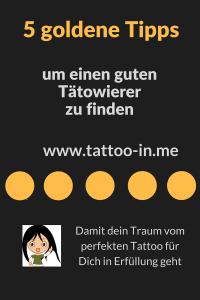 Mein erstes Tattoo 5 tipps um den richtigen Tätowierer zu finden