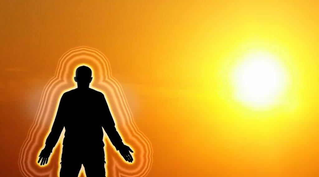 Sonne Hautschichten und TAttoos